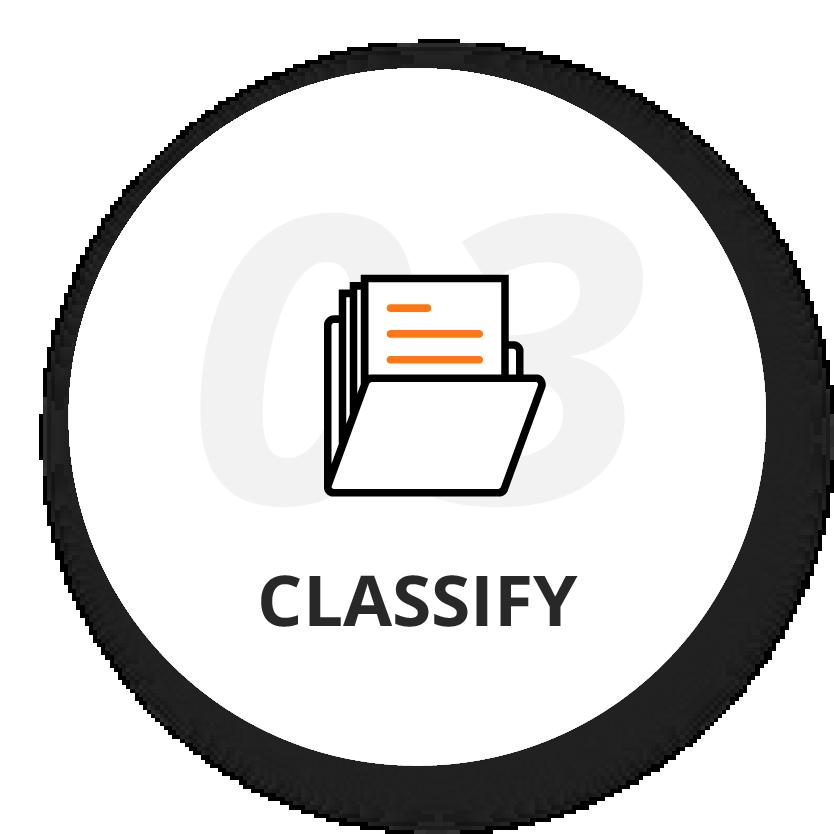 3. Classify